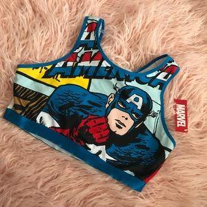 Marvel • Captain America Sports Bra